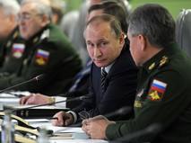 Президент России Владимир Путин проводит единый день приёмки военной продукции