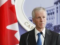 Глава МИД Канады Стефан Дион