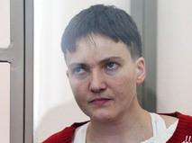 Украинская летчица Надежда Савченко в зале суда