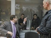Адвокат Юрий Грабовский в зале суда