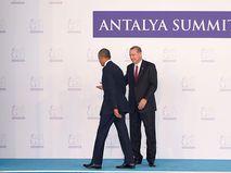 Барак Обама и Реджеп Тайип Эрдоган