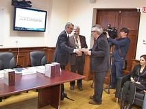 Вручение премии имени Николая Бердяева