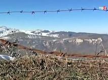 Граница Нагорно-Карабахской республики