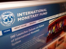 Интернет-сайт МВФ