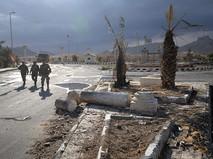 Разрушенные здания в Пальмире