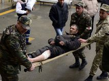 Зона боевых действий в Нагорном Карабахе