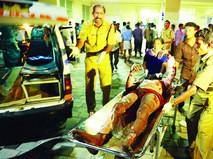 Пострадавший при пожаре в храме в Индии