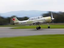 Легкомоторный самолет Як-52