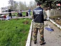 Следственные действия на месте взрыва в Ставрополье