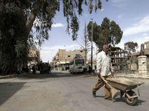Современная часть сирийской Пальмиры