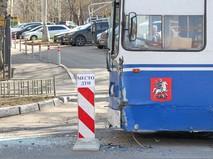 ДТП с участием троллейбуса