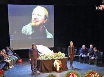 Прощание с актером Альбертом Филозовым