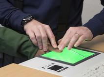 Снятие отпечатка пальца