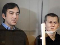 Граждане России Евгений Ерофеев и Александр Александров в суде