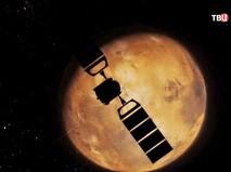 Спутник на подлете к Марсу