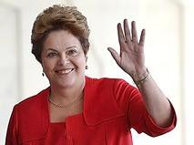 Президент Бразилии Дилма Роусеф