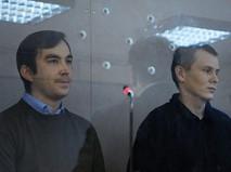 Граждане России Евгений Ерофеев (слева) и Александр Александров