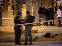 Полиция Израиля на месте происшествия