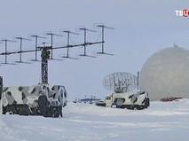 Военные объекты на острове Земля Александры