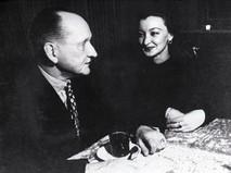 Александр Вертинский с супругой Лидией