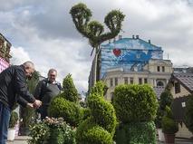 """Подготовка к открытию фестиваля """"Московская весна"""""""