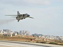 Самолет МиГ-23 ВВС Сирии