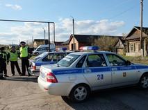 Сотрудники правоохранительных органов в поселке Ивашовка Сызранского района Самарской области