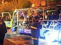 Последствия взрыва в Ереване