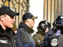 Сотрудники милиции Украины