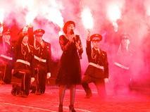 """Мирей Матье на фестивале """"Спасская башня"""""""