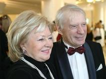 Людмила Касаткина с мужем - режиссёром Сергеем Колосовым