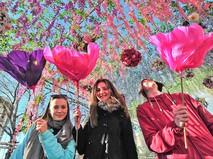 Цветочный парад в Москве