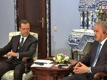 Дмитрий Медведев и премьер Алжира Абдельмалек Селлаль