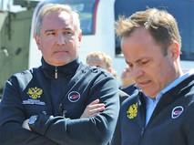 Дмитрий Рогозин и Игорь Комаров