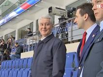 "Сергей Собянин в спортивном комплексе ""Парк Легенд"""