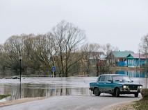 Территория, затопленная в результате паводка