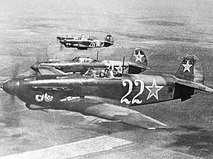 Советский одномоторный истребитель Як-9