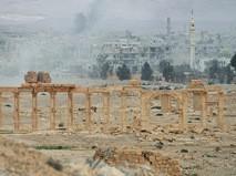 Историческая и современная части Пальмиры