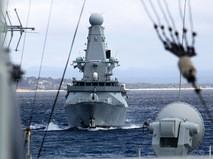 Корабль ВМС Великобритании