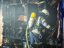 Пожарная служба Турции на месте возгорания