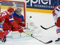 Чемпионат мира по хоккею. Матч Россия - Чехия