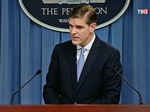 Пресс-секретарь Пентагона Питер Кук
