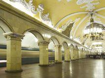 """Станция московского метро """"Комсомольская"""""""