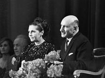 Сергей Герасимов с супругой народной артисткой СССР Тамарой Макаровой