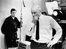 Сергей Герасимов на съёмочной площадке