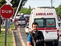 Скорая помощь в Турции на месте происшествия