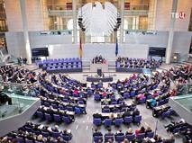Заседание депутатов Бундестага