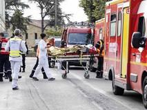 Экстренные службы Франции на месте происшествия