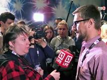 """Российские журналисты на конкурсе """"Евровидение"""""""