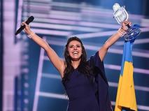 """Джамала (Украина), победившая в финале международного конкурса """"Евровидение-2016"""""""